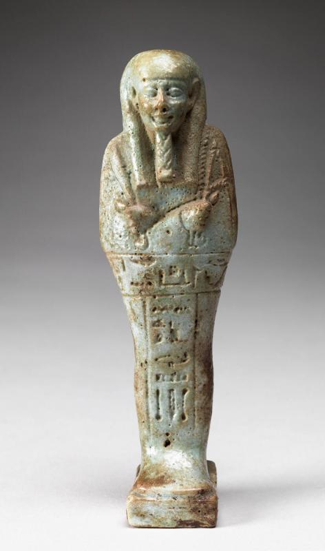 Shawabti of Queen Ma'at-ka-Ra, first wife of Painezem I
