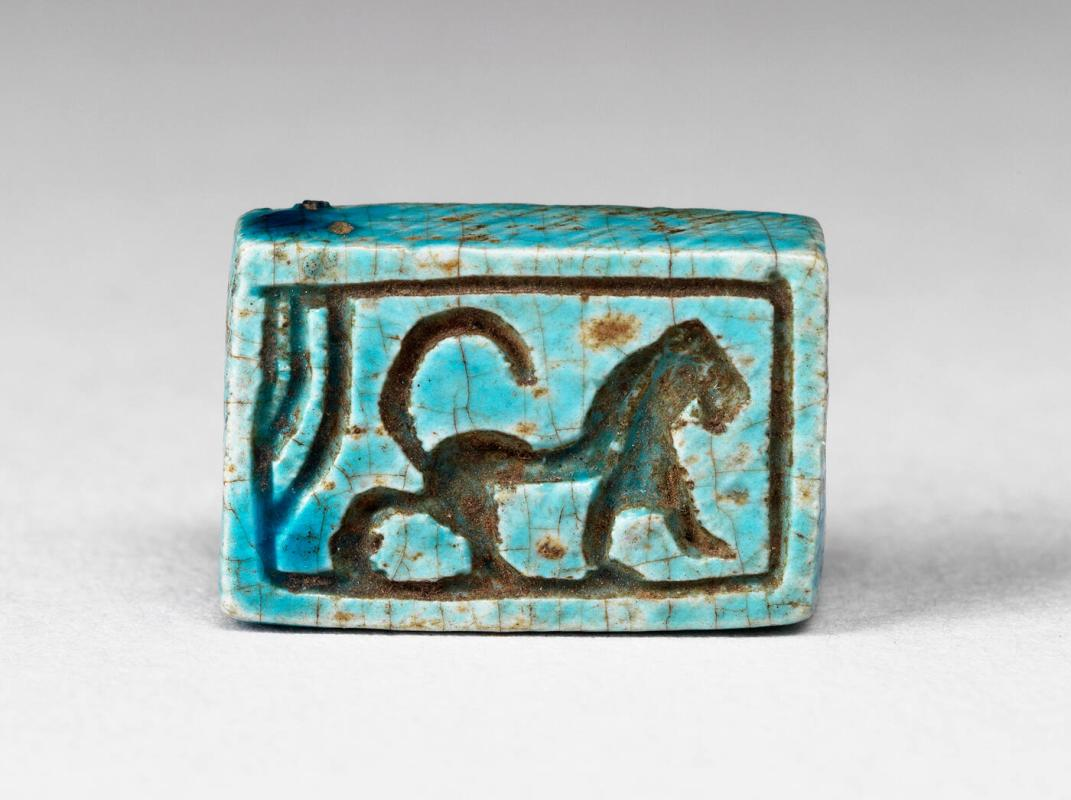 Seal amulet with hieroglyphs