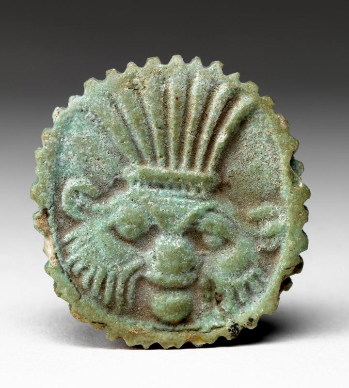 Amulet of Deity with Headdress