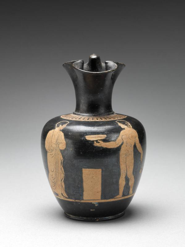 Apulian Red Figure Oinochoe