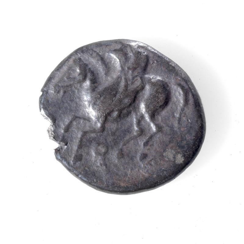 Hemidrachma Coin with Pegasus