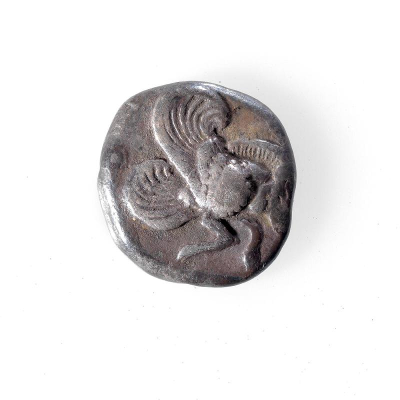 Diobel Coin with Winged Forepart of Bear
