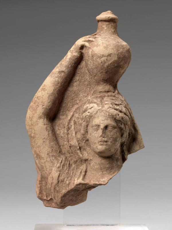 Deep Bust of a Pitcher-Bearer