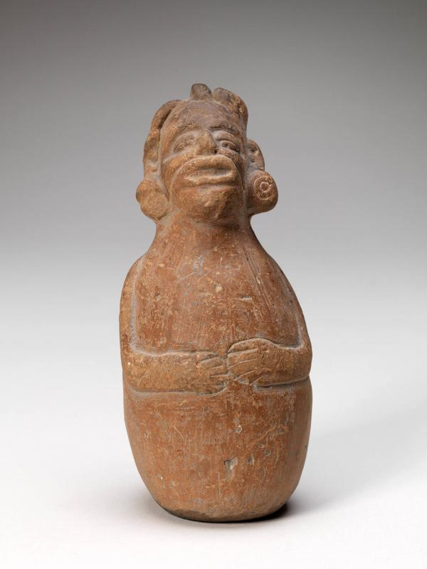 Rattle in form of a Fat God Impersonator