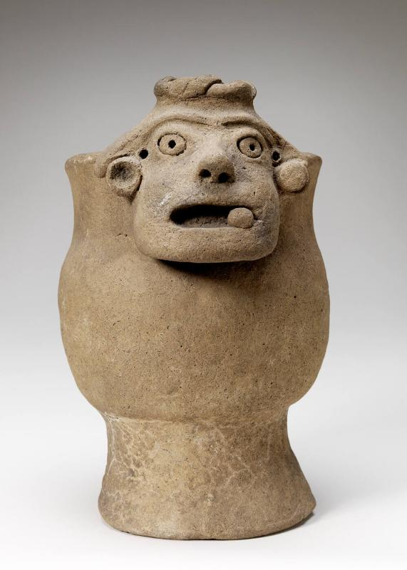 Grotesque incense burner (small bowl with grotesque head)
