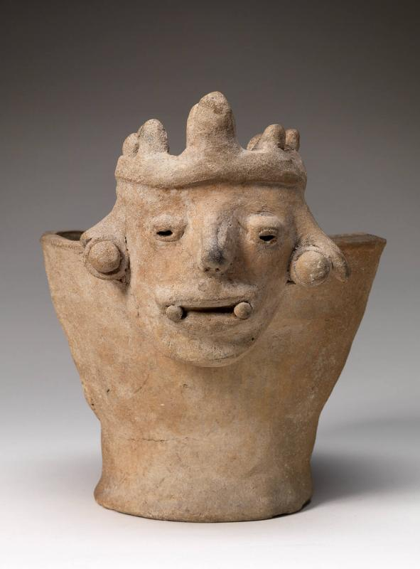 Incense Burner with Male Deity