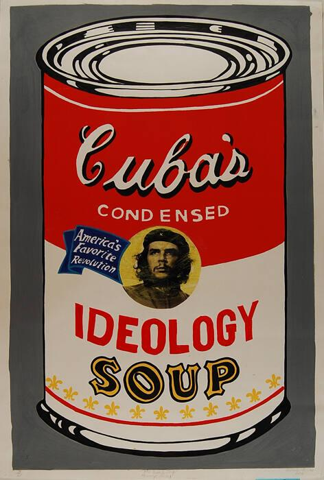 The Cuba's Soup Homage Warhol