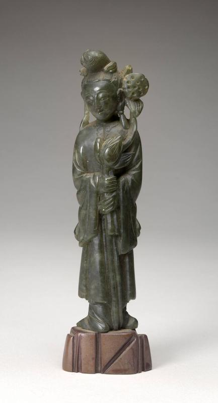 Kuan-yin (Goddess of Mercy) or Kwin Tang (God of Mercy)