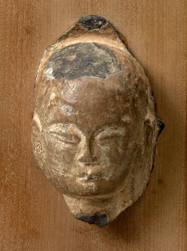 Head of Buddha, fragment