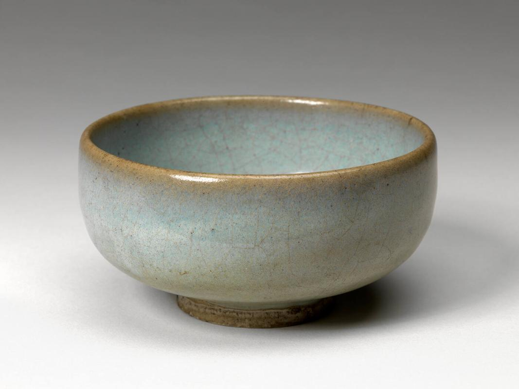 Junyao Blue Glazed Bowl