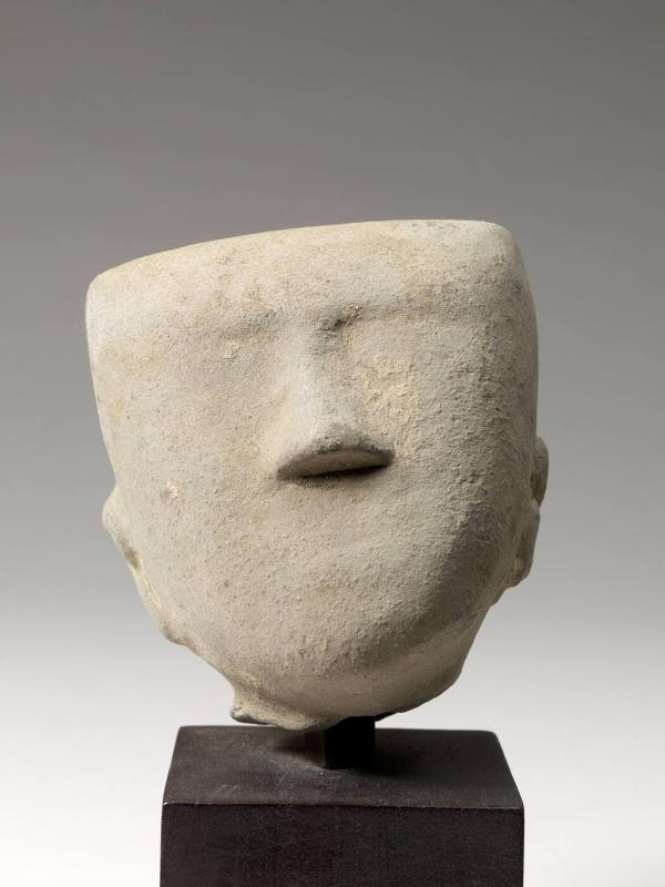 Head of a Tomb Figure