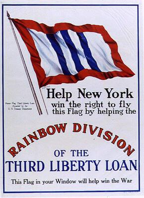 Help New York Win the Right to Fly this Flag by Helping the Rainbow Division
