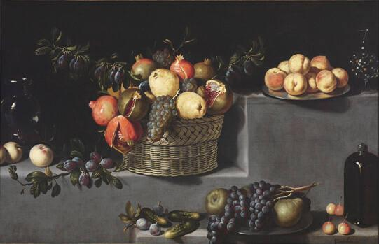 Still Life: Fruit and Glass