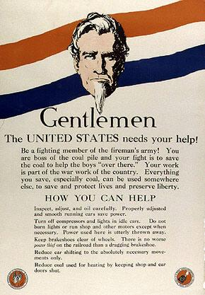 Gentlemen-- The United States Needs Your Help!