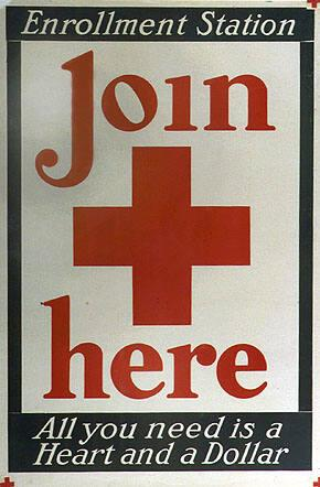 Enrollment Station Join Here -- All You Need is a Heart and a Dollar