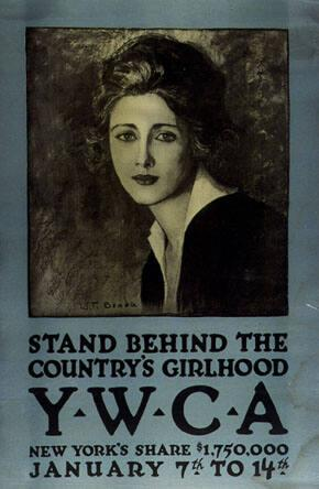 Stand Behind the Country's Girlhood--Y.W.C.A.