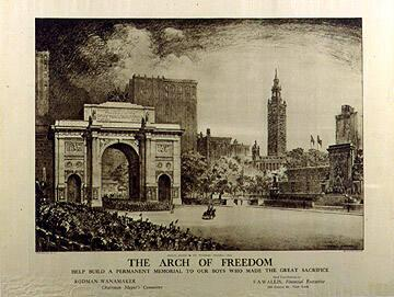 The Arch of Freedom--Help Build a Permanent Memorial...
