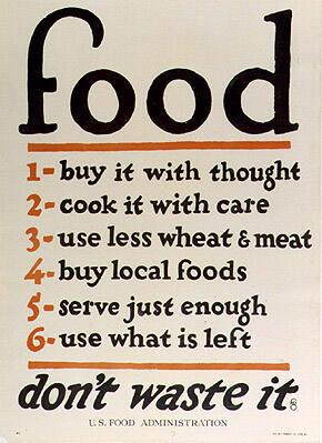 Food...don't waste it