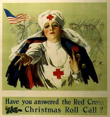 Have You Answered the Red Cross Christmas Roll Call?
