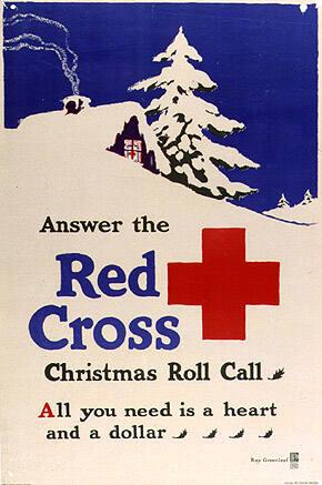 Answer the Red Cross Christmas Roll Call