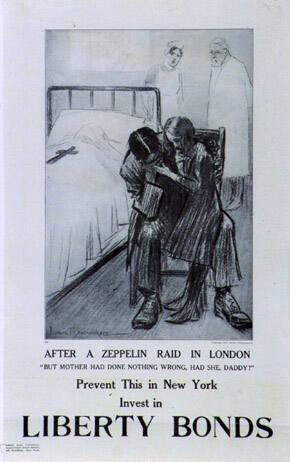 AFTER A ZEPPLIN RAID IN LONDON...