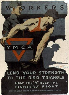 WORKERS...LEND YOUR STRENGTH TO THE RED TRIANGLE