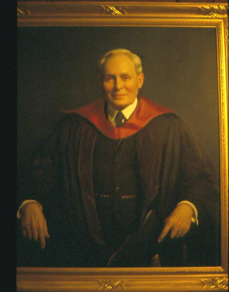 Portrait of Harry Augustus Garfield (1863-1942), Class of 1885, Eighth President of Williams College 1908-1934