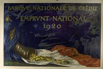 Banque National de Crédit Emprunt National 1920