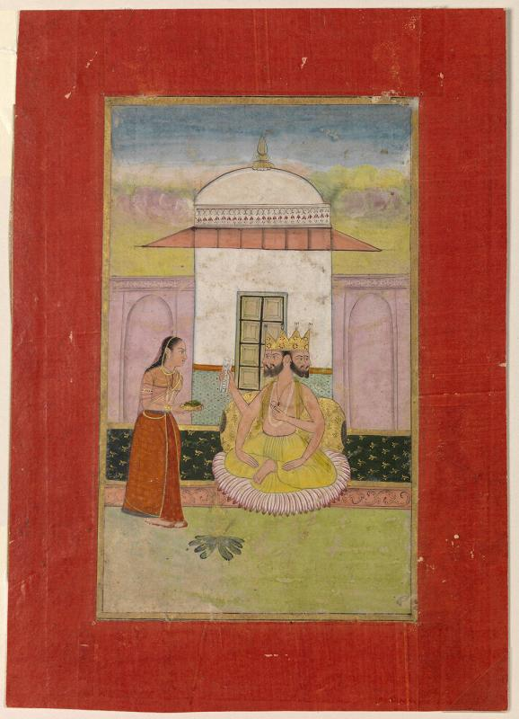 Khambhavati Ragini, Page from a Dispersed Ragamala Set