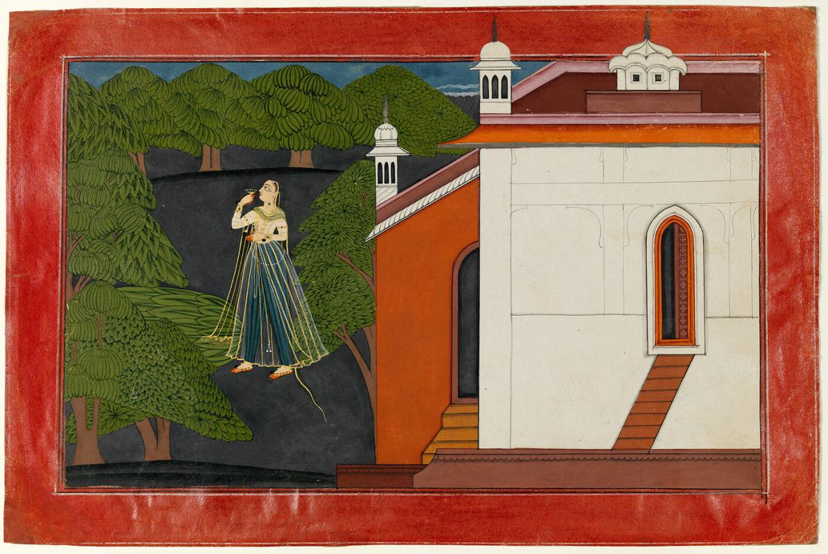 "Radha Mourning (from the Nurpur ""Rasamanjari"")"