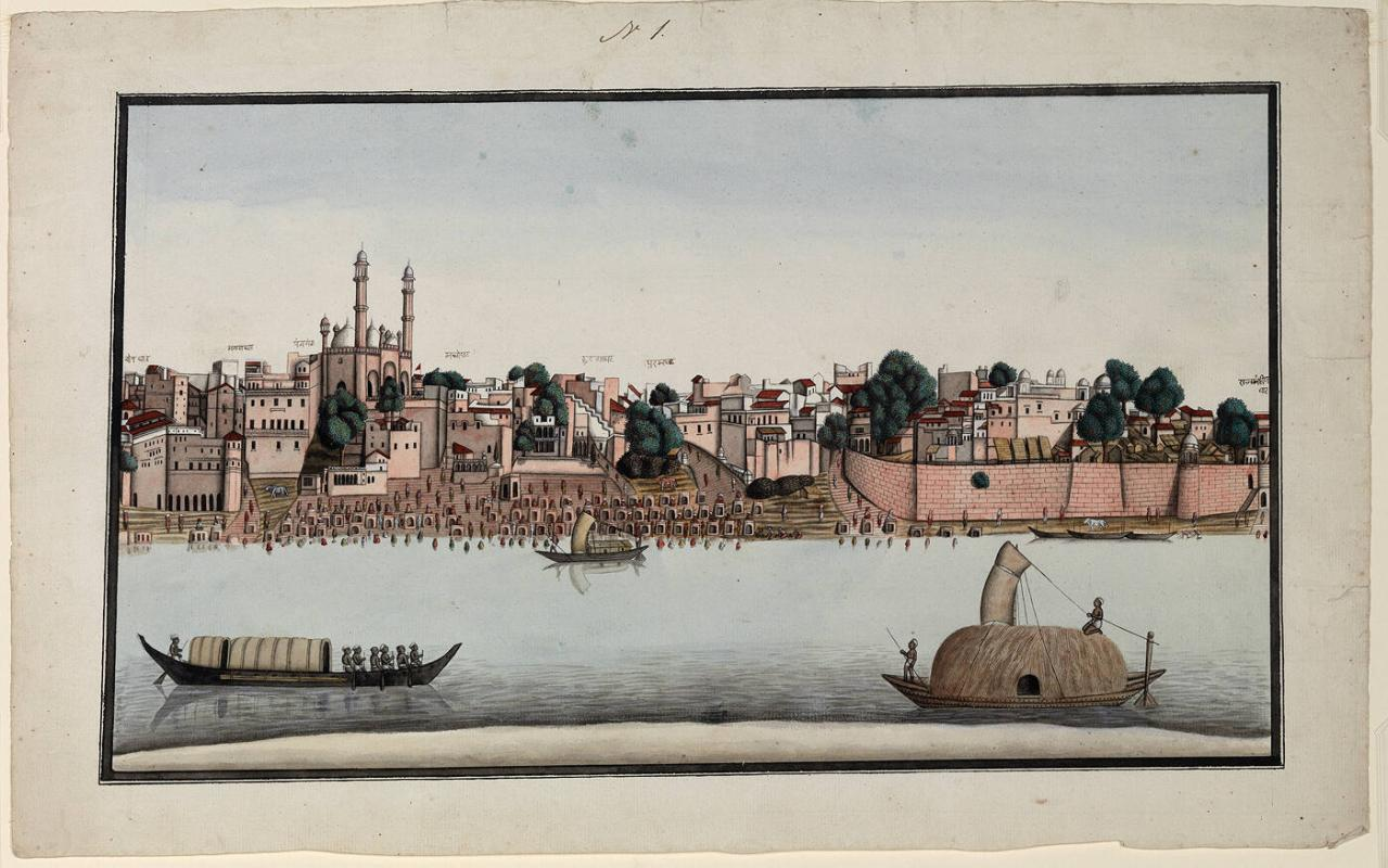 A View of the Ganges at Banaras