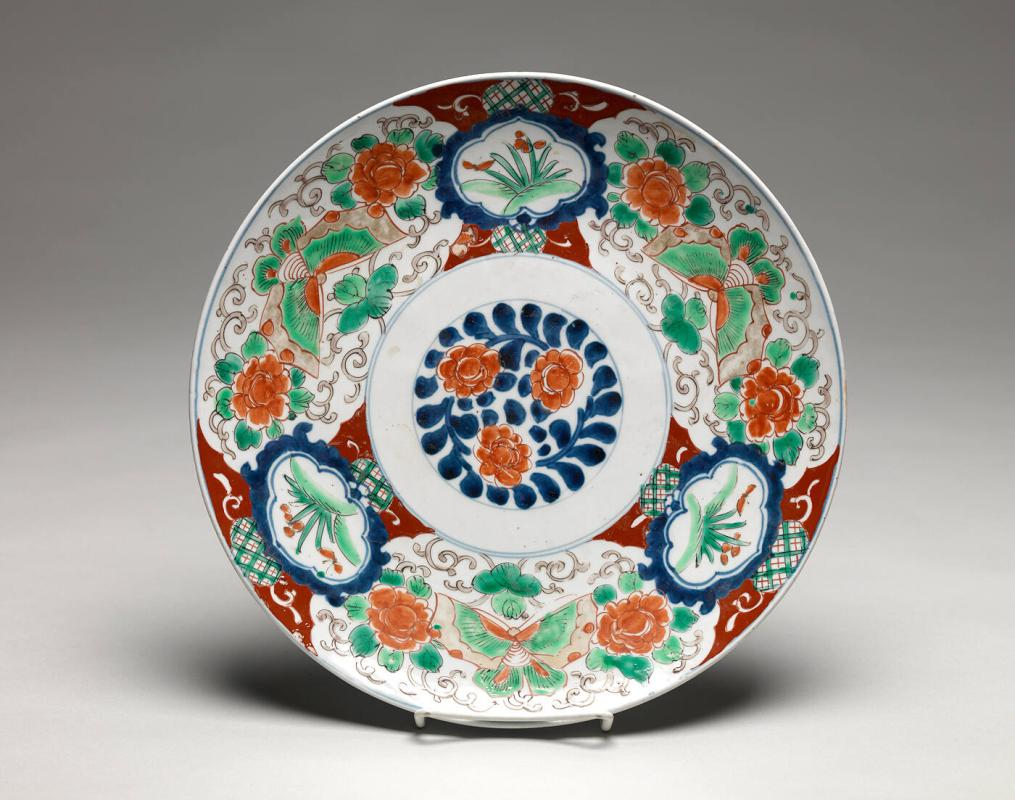 Large Plate with design