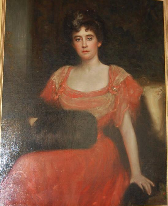 Portrait of Mrs. Clark Williams (Anna Plater)