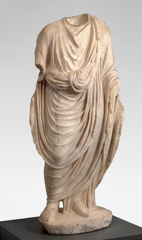 Male Figure Draped in a Toga