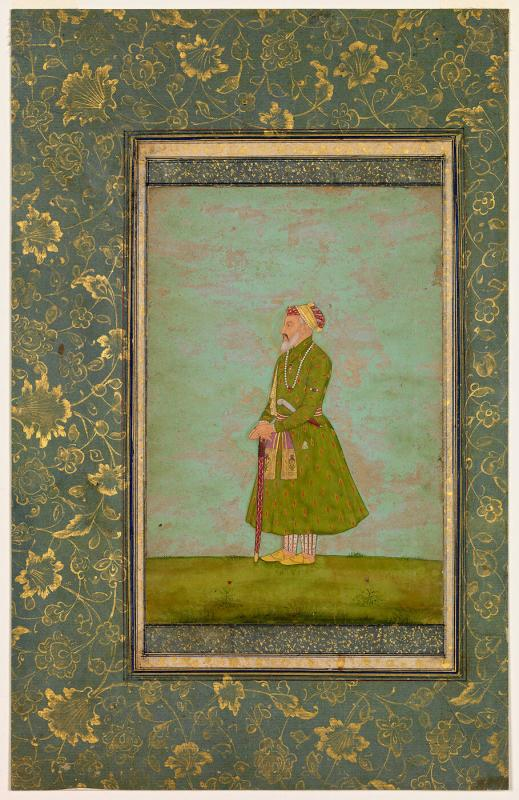 Portrait of the Emperor Shah Jahan in Old Age