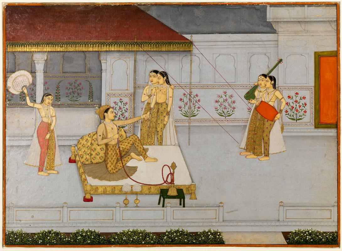 A Prince with Ladies on a Terrace