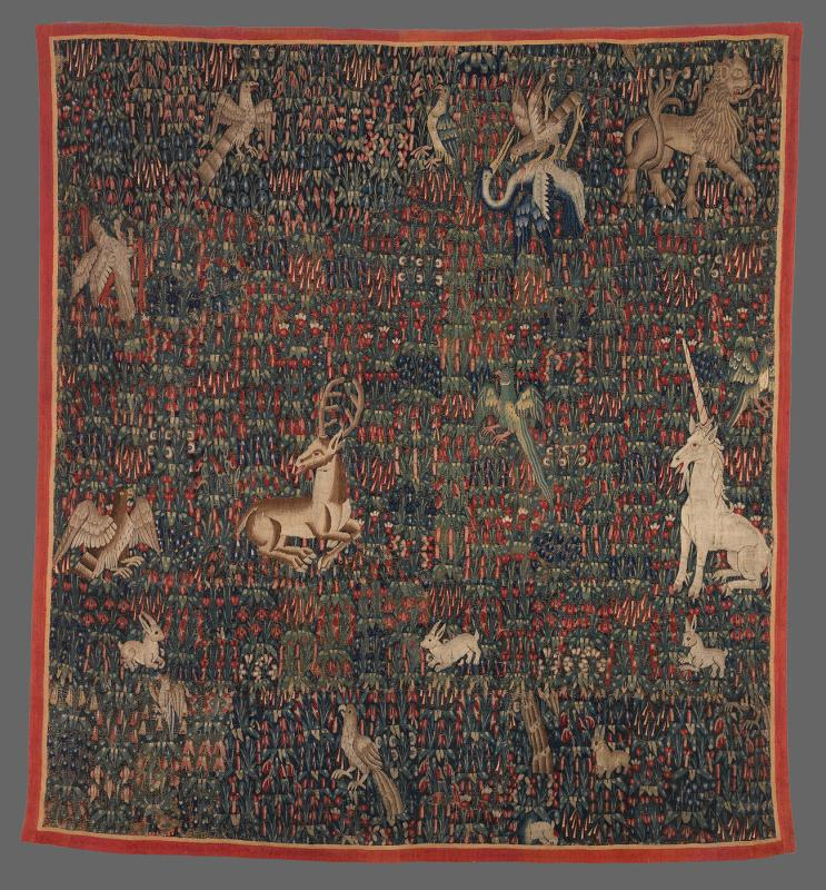 Tapestry from Chateau de Courances