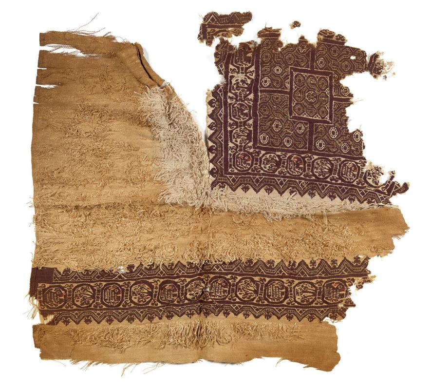 Fragment of a Robe with design