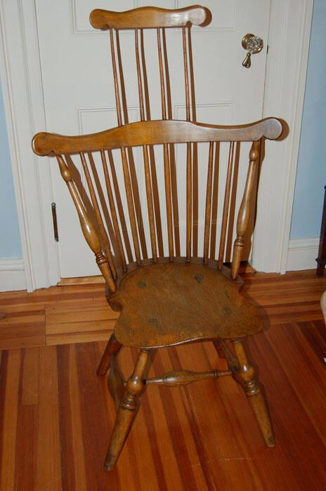 Windsor Fan-Back with Comb Side Chair