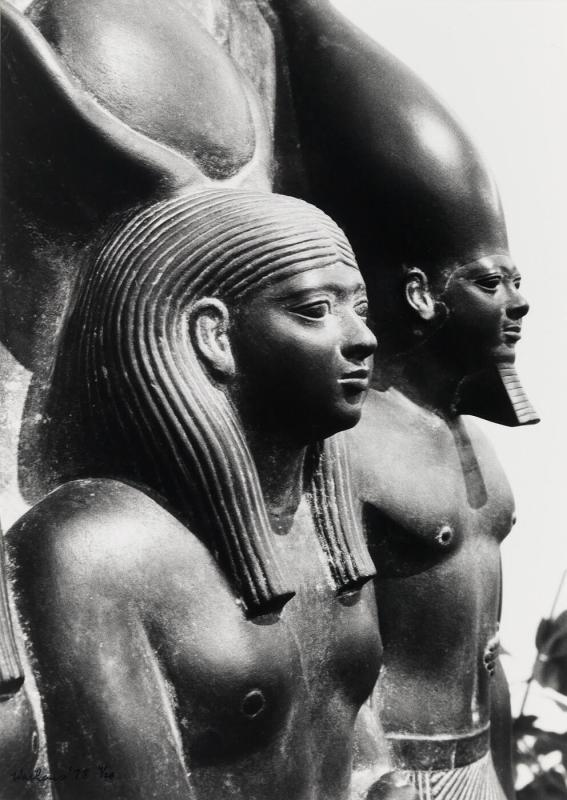 Egyptian male and female