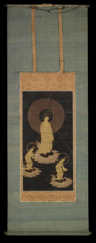 Hanging Scroll; Amida Raigo