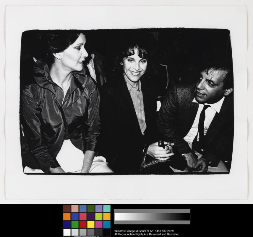 Claudia Cohen, Steve Rubell and Unidentified woman