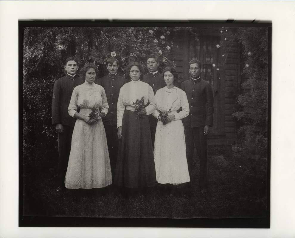 "Group Portrait in Garden (from ""The Hampton Project"")"