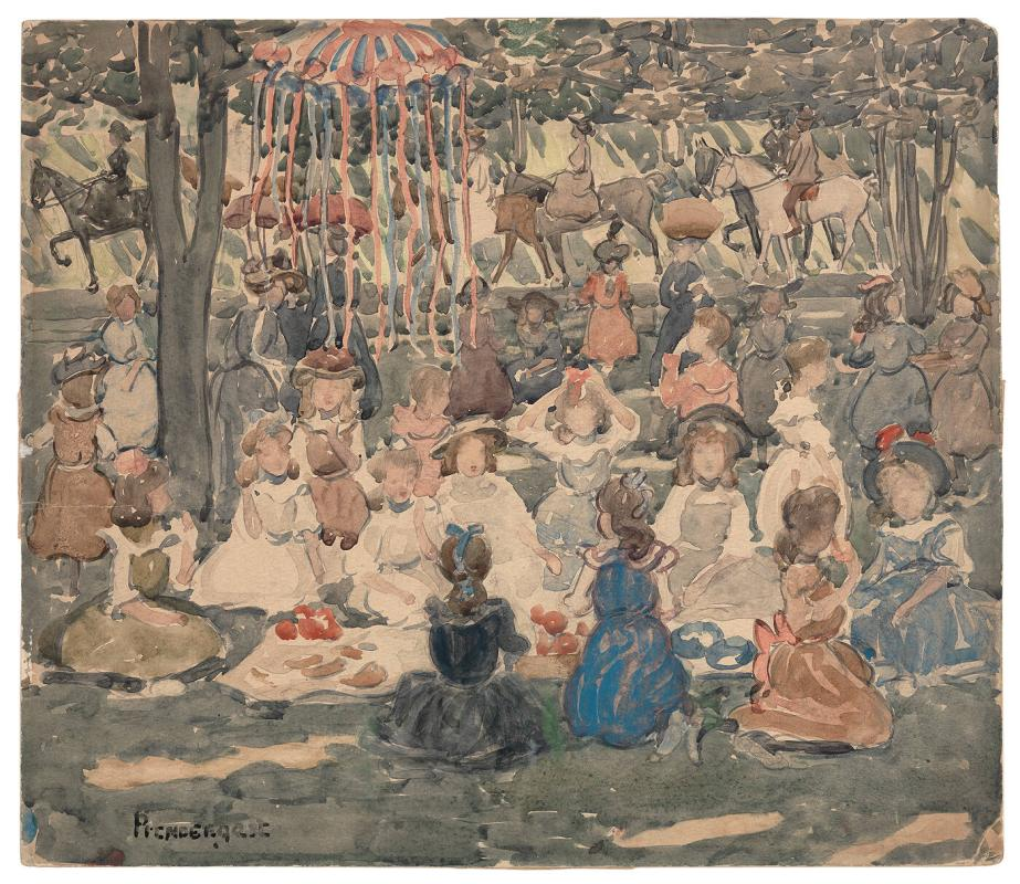 May Day Picnic, Central Park 1902