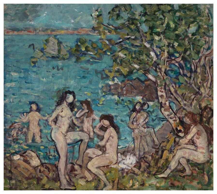 Bathers by the Sea