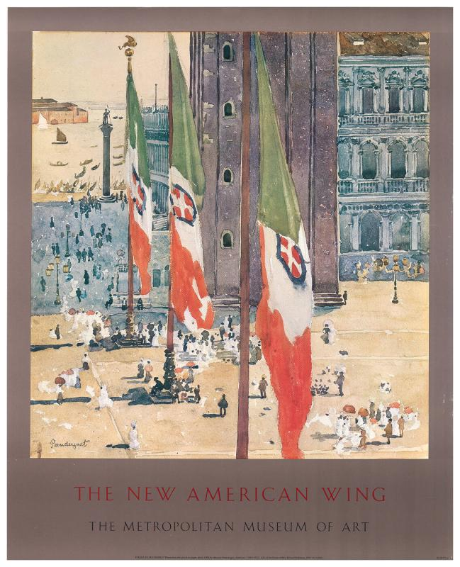 Posters for The New American Wing at The Metropolitan Museum of Art