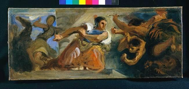 War Loosing Monsters (Study for the Salon du Roi, Palais Bourbon, Paris)