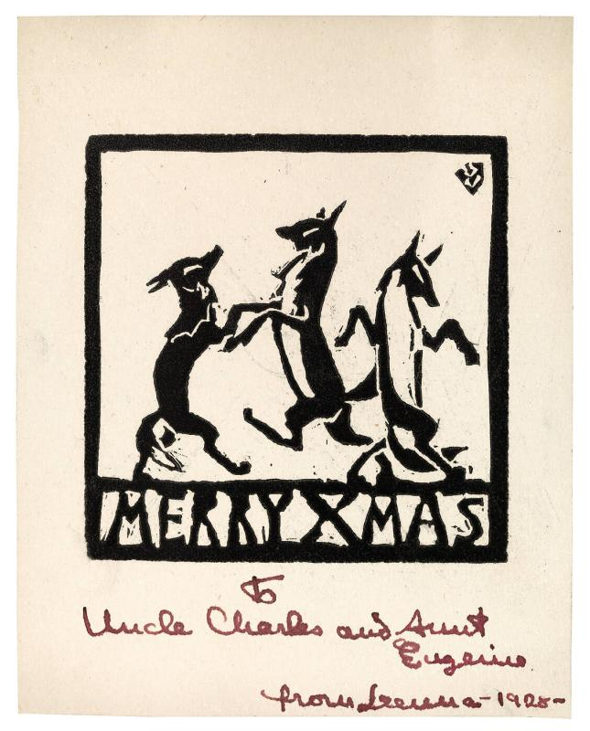 Christmas Card from Lenna Glackens