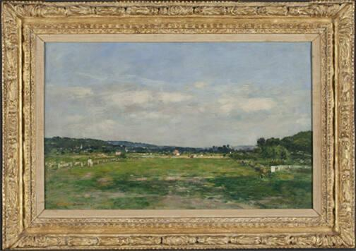 Deauville, Touques Valley, View of the Hippodrome