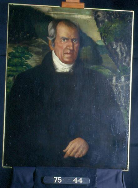 Mark Hopkins (1802-1887), Class of 1824, Fourth President of Williams College 1836-1872, College Trustee 1872-1887